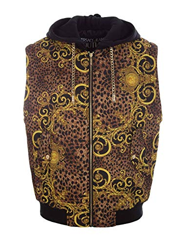 Versace Luxury Fashion Uomo B9GUA506S0534923 Multicolor Gilet   Autunno Inverno 19