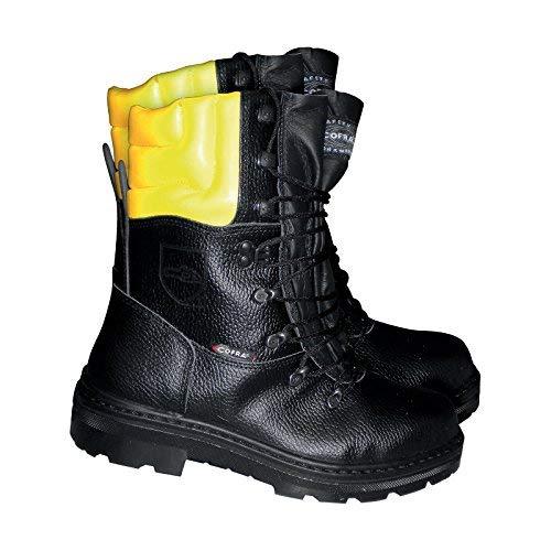 Cofra protezione antitaglio bagagliaio Woodsman bis forestale con sega protezione bagagliaio, nero,...