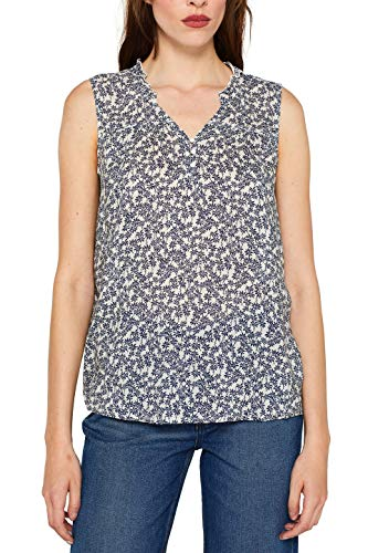 Esprit 059ee1f013 Blusa, Blanco (White 100), 40 (Talla del Fabricante: 38) para Mujer