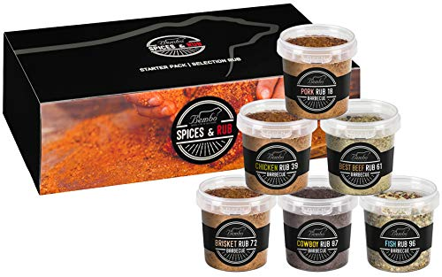BBQ RUBs - Starter Pack - Miscele di Spezie per Barbecue - Bembo Spices & Rub