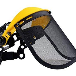 Oregon Q515064 – Visiera protettiva con rete in acciaio