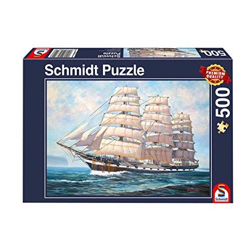 Schmidt- Puzzle a Gonfie Vele, 500 Pezzi, 58311