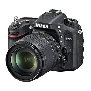Nikon D7100 24.1MP Digital SLR Camera (Black) with AF-S 18-105mm VR Lens, Card and Camera bag with 8GB class10 card FREE D-SLR Tutoria DVD
