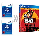PSN Guthaben-Aufladung für Red Dead Redemption 2 Ultimate Edition   PS4 Download Code - deutsches Konto