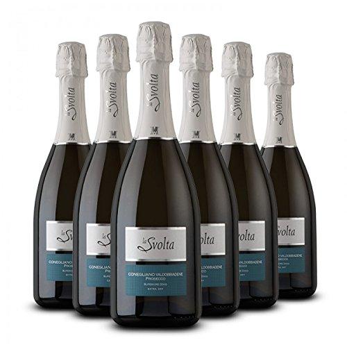 Prosecco Superiore DOCG Extra Dry - Conegliano Valdobbiadene - 6 bt - cl. 75 - La Svolta di Moret