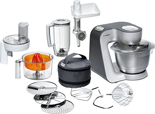 Bosch MUM56340 food processor, colore argento