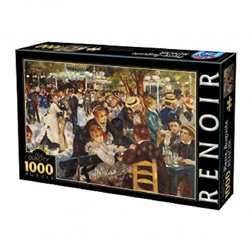 Puzzle 1000 pz Renoir dance at the moulin 68x47 cm *03232 giochi giocattoli