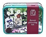 Flor Kit presionar (en miniatura) de regalos en una lata