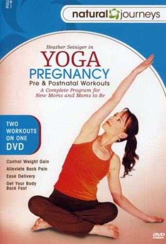 Yoga Pregnancy: Pre and Post Natal Workouts by Heather Seiniger