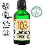 Naissance Olio di Limone Biologico - Olio Essenziale Puro al 100% - Certificato Biologico, Vegano, senza OGM - 50ml