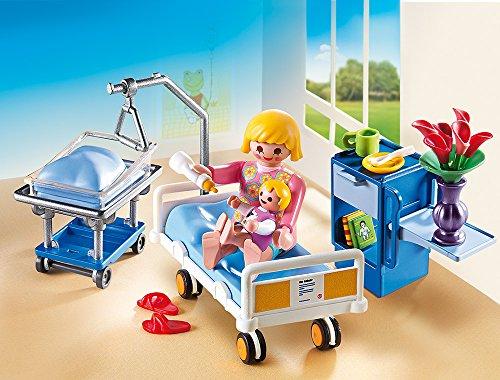 PLAYMOBIL 6660 – Krankenzimmer mit Babybett - 2