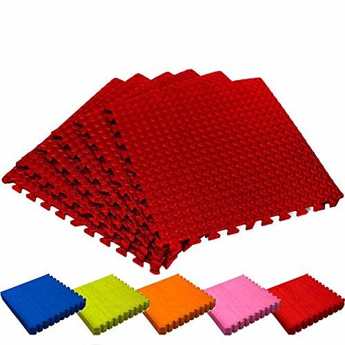 Set di 6 tappetini ad incastro / tappetini puzzle ideale come rivestimento per...