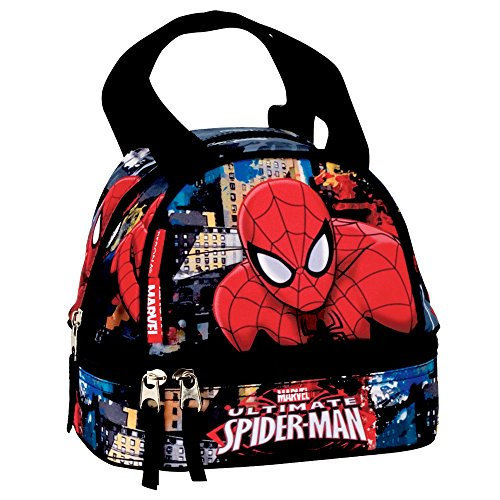 Marvel 54306Spiderman Town School Lunch Bag