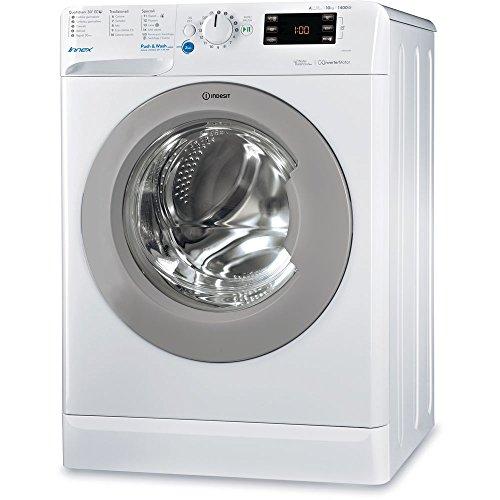 Indesit BWE 101484X WSSS IT Libera installazione Carica frontale 10kg 1400Giri/min A+++ Bianco...