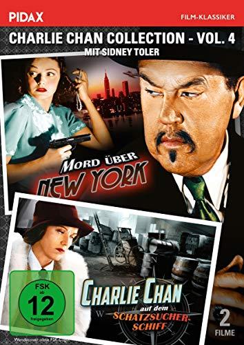 Charlie Chan Collection - Vol. 4 / (Mord über New York + Charlie Chan auf dem Schatzsucherschiff) (Pidax Film-Klassiker)
