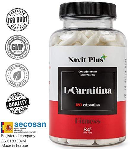 L-Carnitina 1000mg, integratore alimentare naturale per dimagrire e potente brucia grassi sportivo. Aminoacidi natural. Offre un maggiore contributo di energia e resistenza.