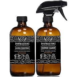 Dirtbusters - Kit di detergente e balsamo per pelle con trattamento deodorante, 2 flaconi da 500 ml, formula commerciale forte, PH neutro delicato per la pelle