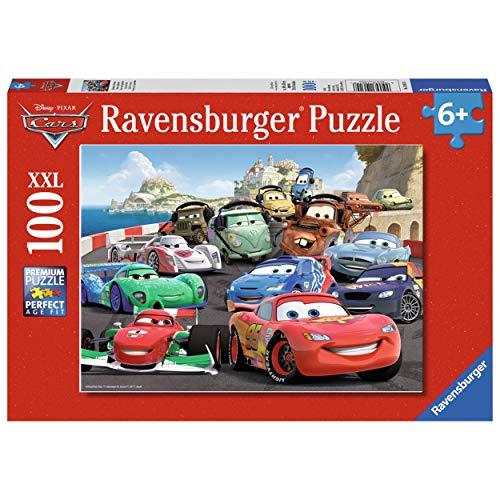 Ravensburger 10615 Gara con imprevisti, Cars 2 Puzzle 100 pezzi