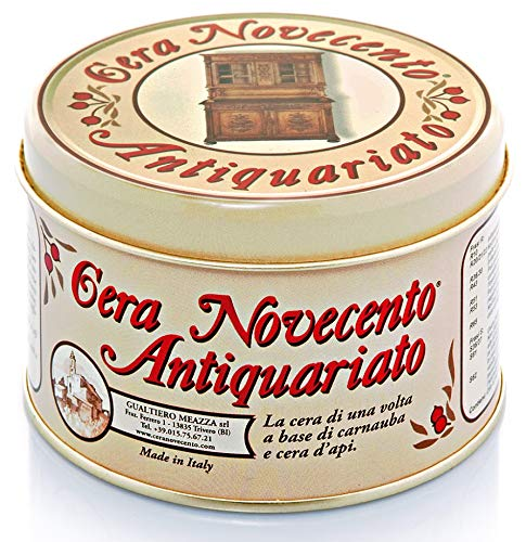 Cera Novecento Y916 Cera Antiquariato in Pasta, Noce Scuro, 250 ml
