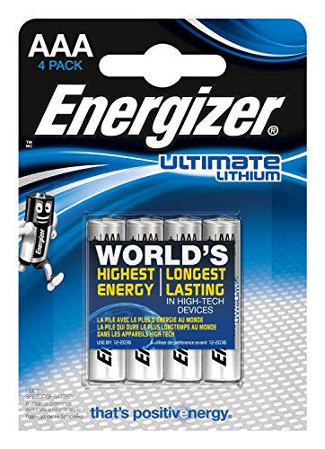 Energizer Batterie Lithium Micro AAA (1,5Volt 4er-Packung)