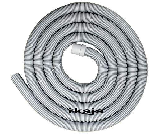 irkaja 5 Meter Front Load Fully Automatic Washing Machine Waste Water Outlet/Drain Hose Pipe Tube (5 Meter)(Grey)