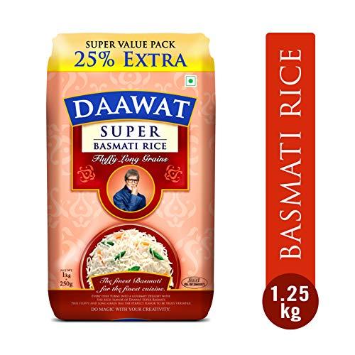 Daawat Super Basmati, 1kg with 25% Extra