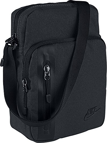 Nike Uni Core Tech S Items Schultertasche, Black, 23 cm
