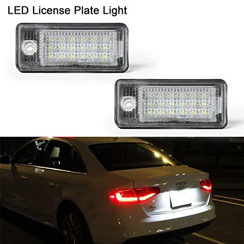 LED Luci targa Gempro 2 x 18 SMD LED numero di targa luce con resistore CAN-bus e risparmio...