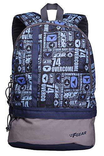 F Gear Burner 26 Liters P11 Sky Blue Casual Backpack