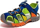 Zapatillas de Trekking y Senderismo Botas de Senderismo Unisex Niños (35 EU, 1 Azul)