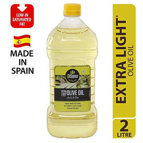 DiSano Extra Light Olive Oil, Ideal for Indian Cooking, 2L