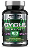 Cycle Support - 120 Capsules | On Cycle Support with Choline to support Normal Liver Function | Exclusively made in the UK