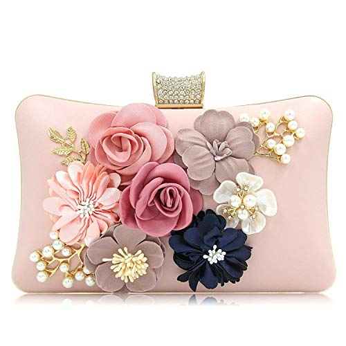 PARADOX (LABEL) Women Flower Clutches Evening Handbags Wedding ...