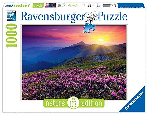 Ravensburger Italy Puzzle Montagna all'Alba, Multicolore, 1000 Pezzi 19608