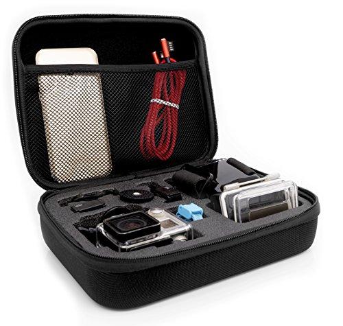 MyGadget Custodia Trasporto per Action Cam & Accessori - Borsa Portatile con Manico - Impermeabile Anti Urto per p.e. GoPro Hero 7 6 5 4 3+ 3 - Medium