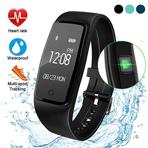 ITSHINY Activity Tracker IP67, Orologio Fitness Tracker Cardio Contapassi Cardiofrequenzimetro da...
