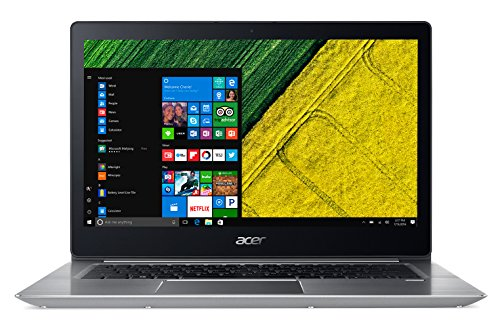 Acer Swift 3 SF314-52-74JS Notebook, 14' FHD LCD, Intel Core i7-7500U, 2,7 GHz , RAM 8 GB DDR4, 256...