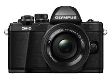 "Olympus E-M10 Mark-II - Cámara EVIL de 16.1 Mp (pantalla 3"", estabilizador óptico, vídeo Full HD, WiFi) - Kit cámara con objetivo 14-42mm EZ Zoom, negro"