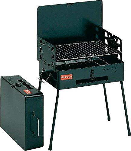 Ferraboli - Barbecue - Picnic - Charbon de bois - Noir