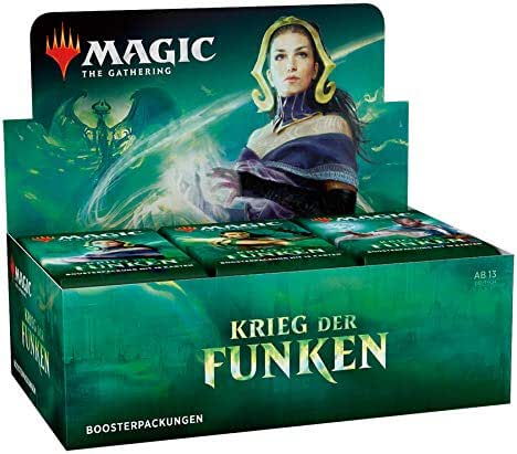 Magic The Gathering - Krieg der Funken - Boosters / Displays Auswahl | DEUTSCH | Sammelkartenspiel TCG