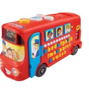 Autobús sonoro de VTech, para bebés, en rojo
