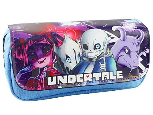2018Legend of Undertale Comestic Bags penna casi Skull Brothers Game personaggi con doppia...