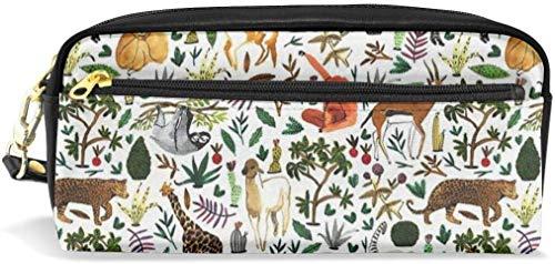 Astuccio portamatite Astuccio tropicale per animali di grande capacità