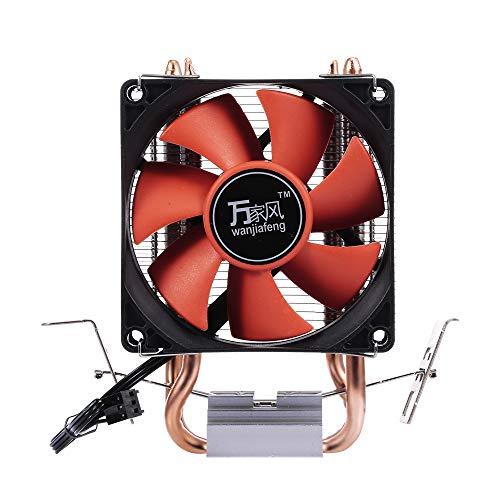 docooler CPU Cooler Radiatore Heatpipe Fans Quiet Radiatore Doppio dissipatore per Intel/AMD