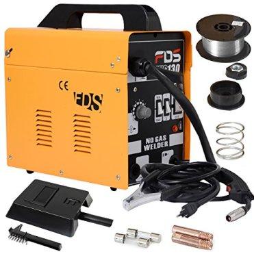 COSTWAY-Ampere-Schweigert-Schweimaschine-FLUX-Schutzgas-MIG-130-Elektrodenschweigert-Flldraht