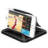 Supporto Smartphone per Auto Cruscotto - Universale Antiscivolo Porta Cellulare Auto per telefoni per iPhone X 8 7 Plus Galaxy Note 8 S9 S8 Plus Bordo S7 e Smartphone da 3 Pollici o Dispositivi GPS