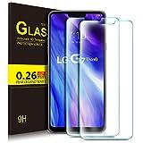 Kugi LG G7 One/LG G7 ThinQ Protector de Pantalla, Cristal Templado Vidrio Templado [9H Dureza] [Alta Definicion] Protector de Pantalla para LG G7 One/LG G7 ThinQ(Paquete de 2)
