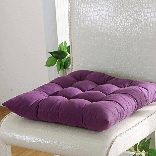 Favolook, sedile imbottito, di forma quadrata, per sedia, con cordolo, molto morbido, ideale anche...