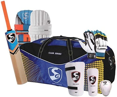 SG Kashmir Eco Cricket Kit for youth, Size 6 (Ideal for age between 11 to 13 Yrs)