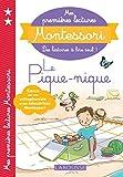 Mes premières lectures Montessori - Le pique-nique